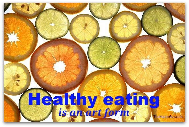 Healthy eating is an art form