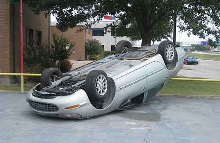 Buying New Car When Upside Down
