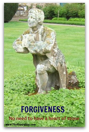Forgiveness - don't have a heart of stone