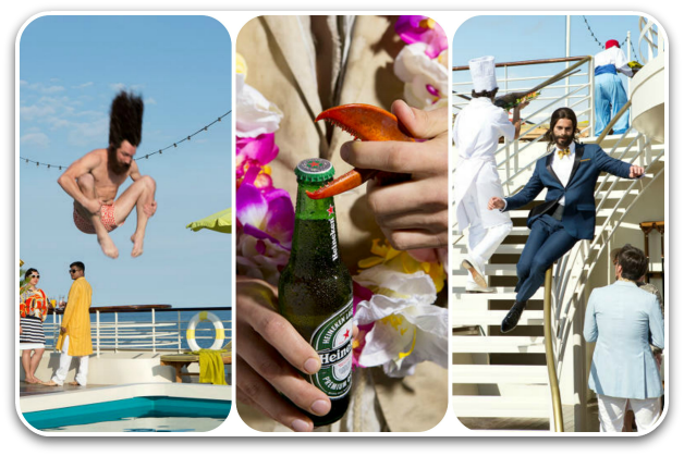 Scenes from The Odyssey by Heineken