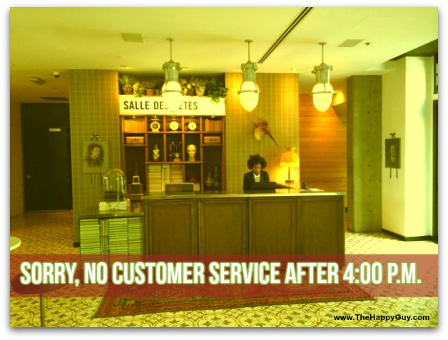 No customer service