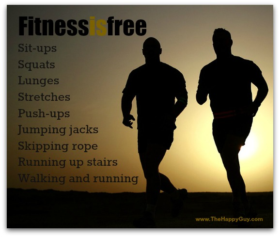 Fitness is free
