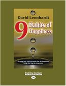 Large print happiness book cover
