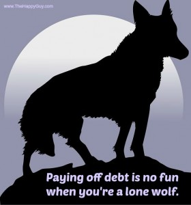 Lone Wolf in Debt