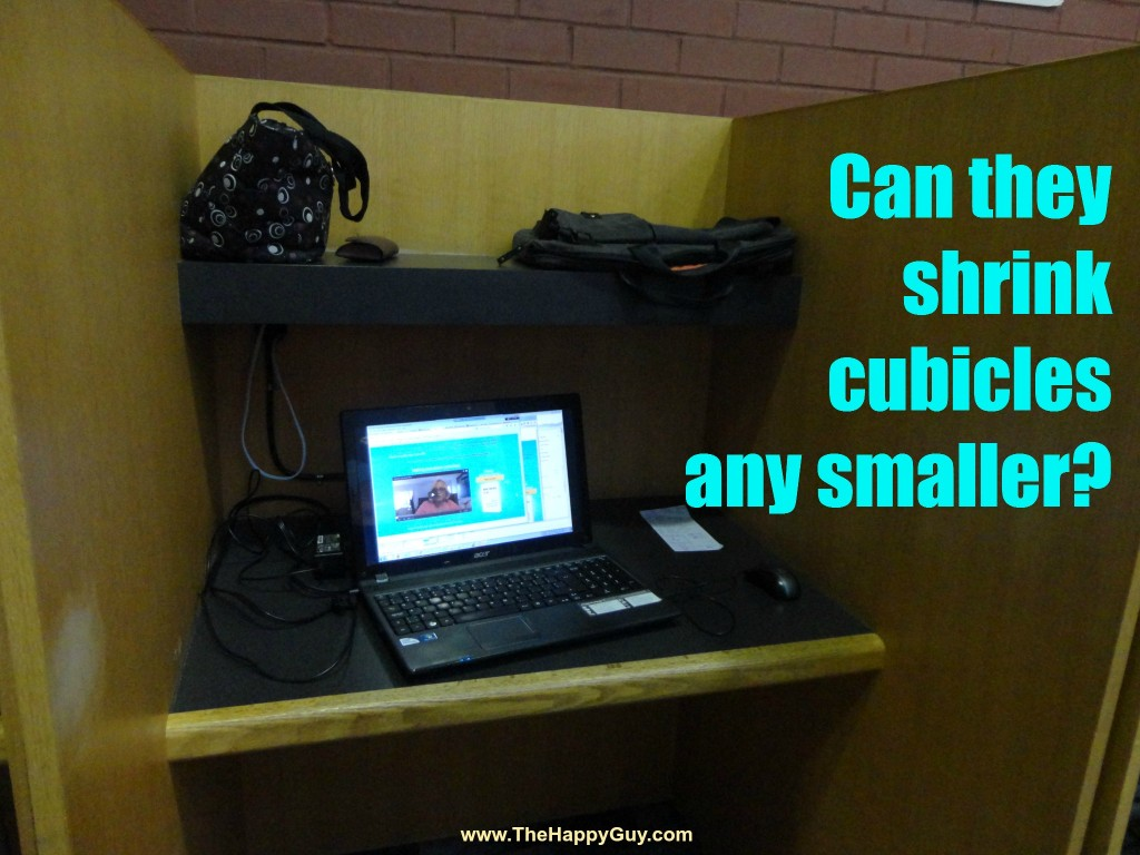 Cubicle at the library