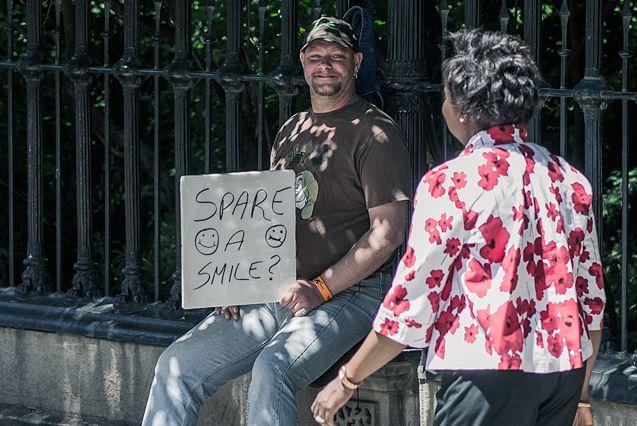 Spare a smile