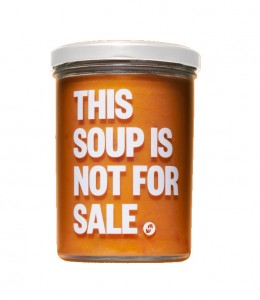 This soup is not for sale