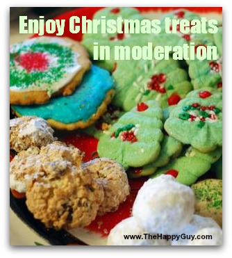 Enjoy Christmas treats in moderation