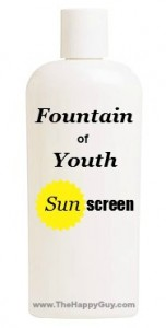 Fountain Of Youth Sunscreen