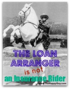 Not an insurance rider