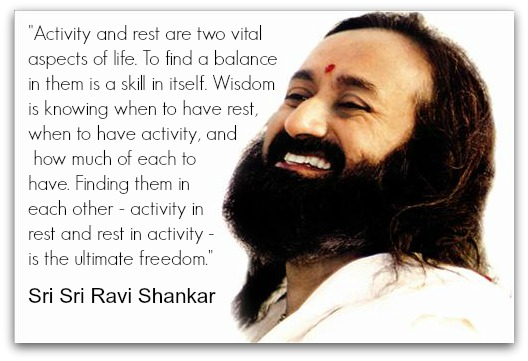 Sri Sri Ravishankar Quote