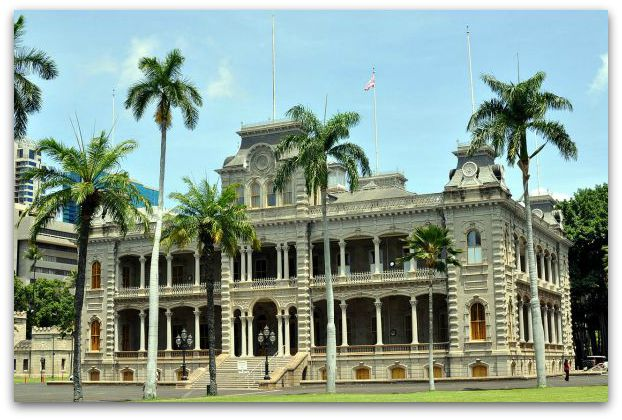 Iolani Palace - Photo:D Ramey Logan 2011