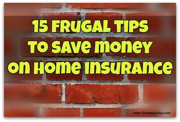 Frugal home insurance tips