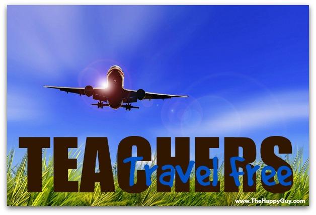 free travel for teachers